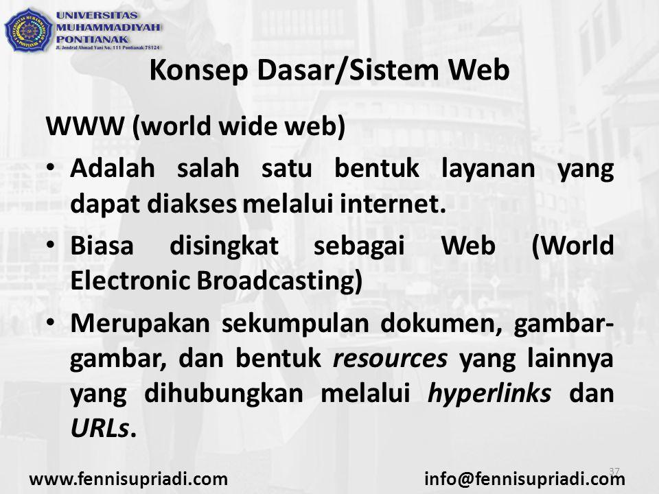 Konsep Dasar/Sistem Web