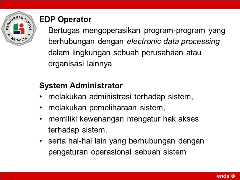 EDP Operator