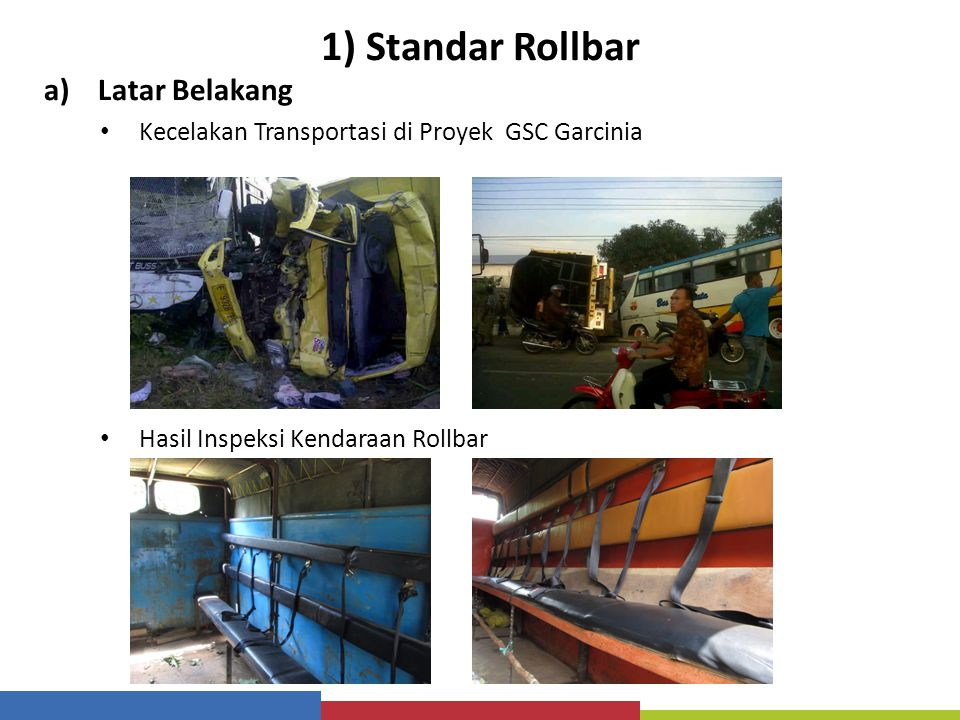 1) Standar Rollbar Latar Belakang