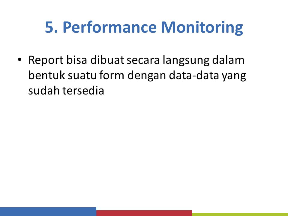 5. Performance Monitoring