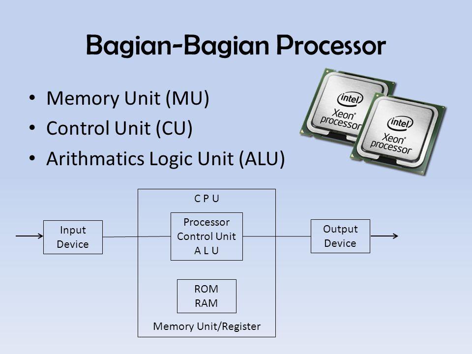 Bagian-Bagian Processor