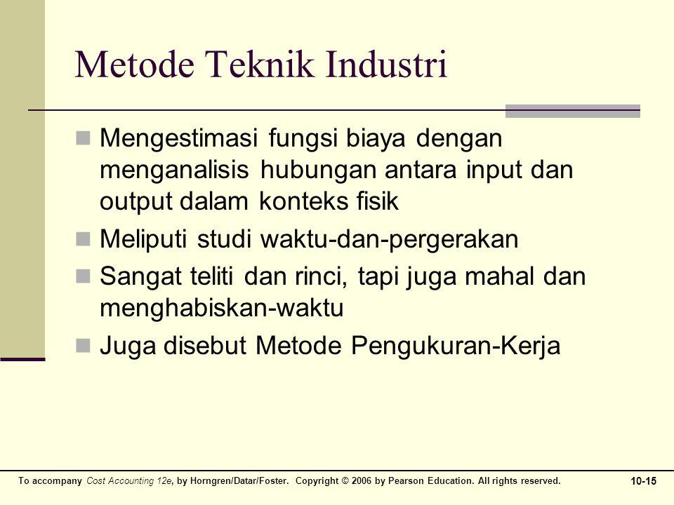 Metode Teknik Industri