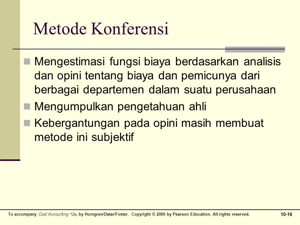 Metode Konferensi