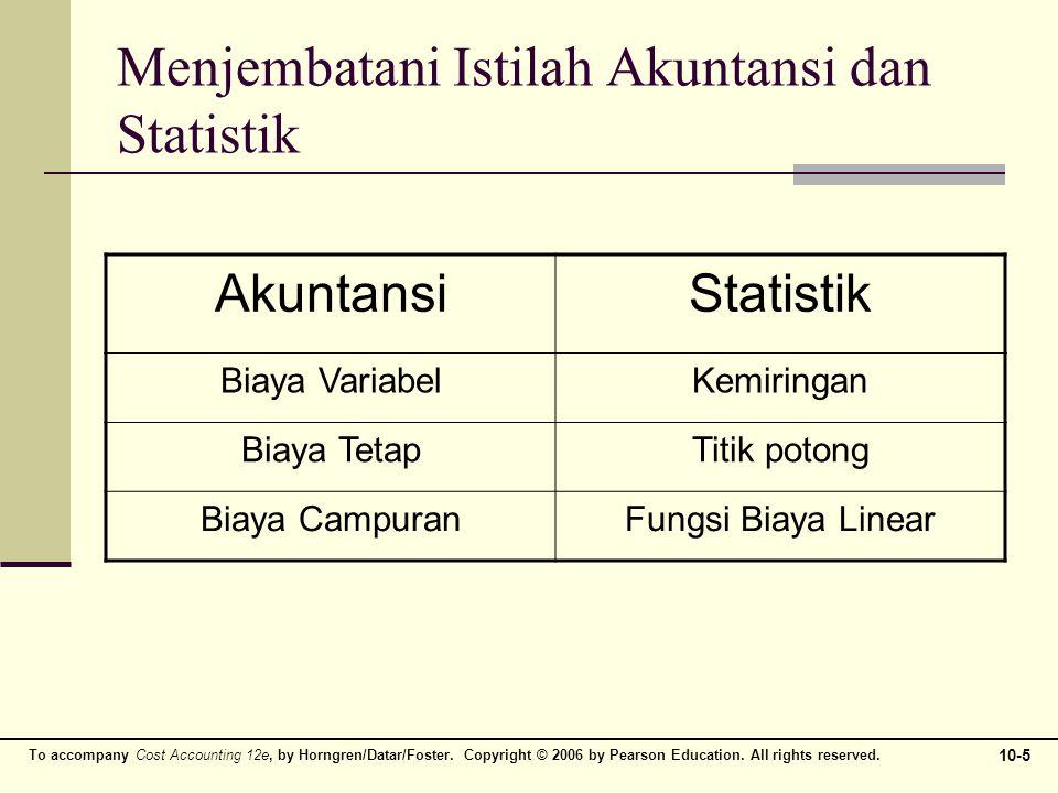 Menjembatani Istilah Akuntansi dan Statistik