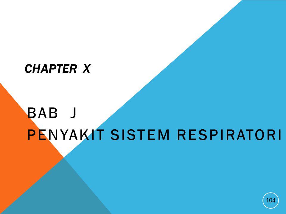BAB J Penyakit Sistem respiratori