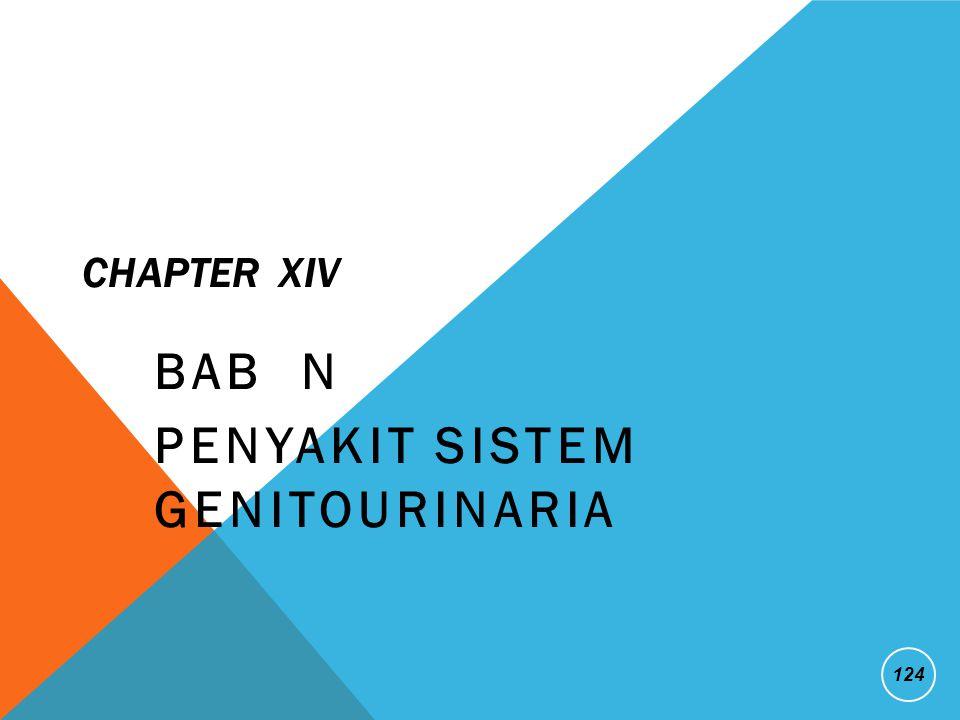 BAB N Penyakit Sistem Genitourinaria