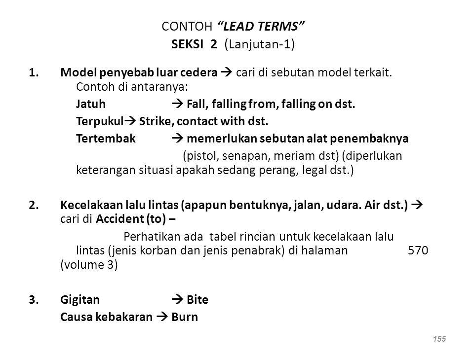 CONTOH LEAD TERMS SEKSI 2 (Lanjutan-1)