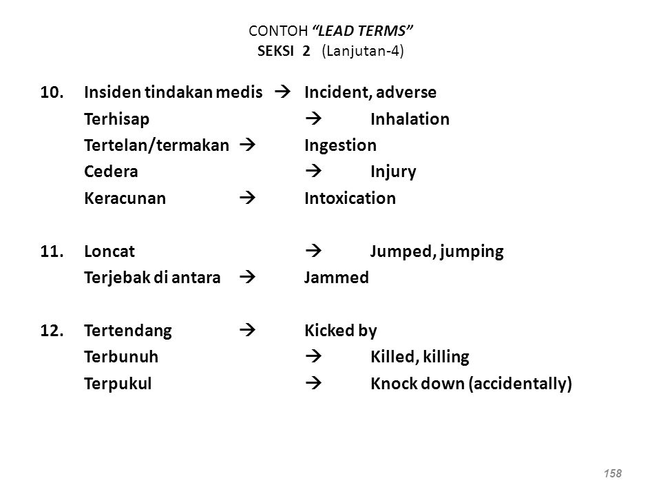 CONTOH LEAD TERMS SEKSI 2 (Lanjutan-4)