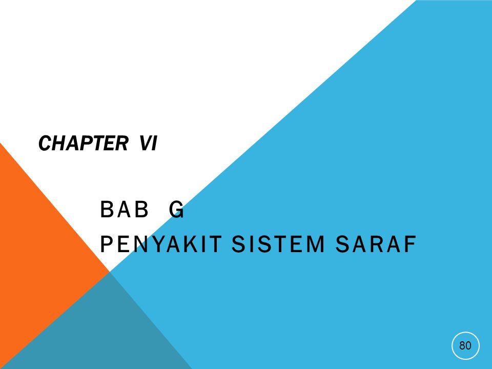 BAB G Penyakit Sistem Saraf