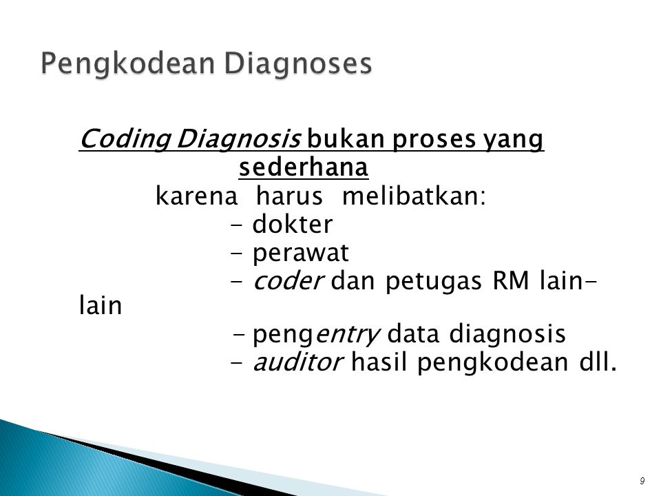 Pengkodean Diagnoses
