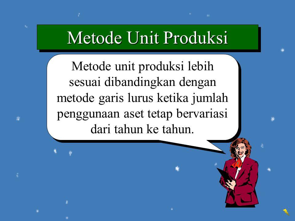 Metode Unit Produksi