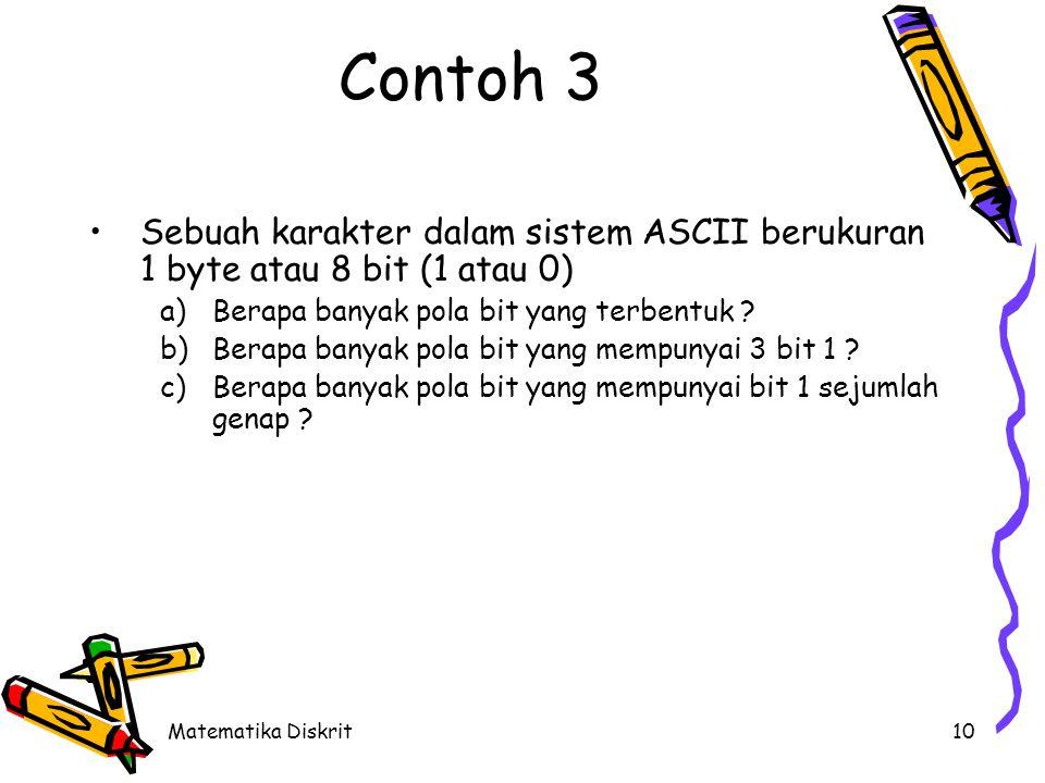 Solusi 1 byte = 8 bit (posisi 0 .. 7) 1 bit terdiri dari 1 atau 0