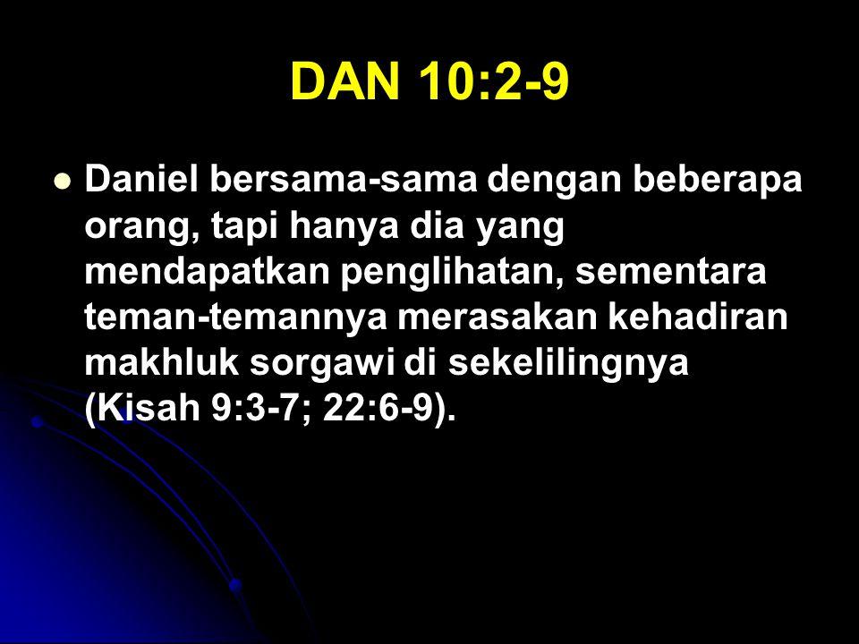 DAN 10:2-9
