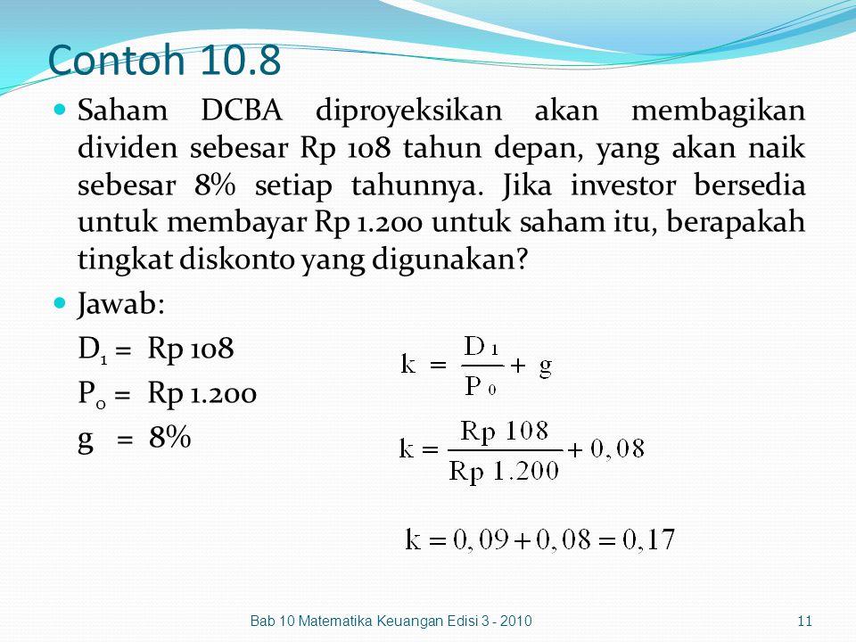 Contoh 10.8
