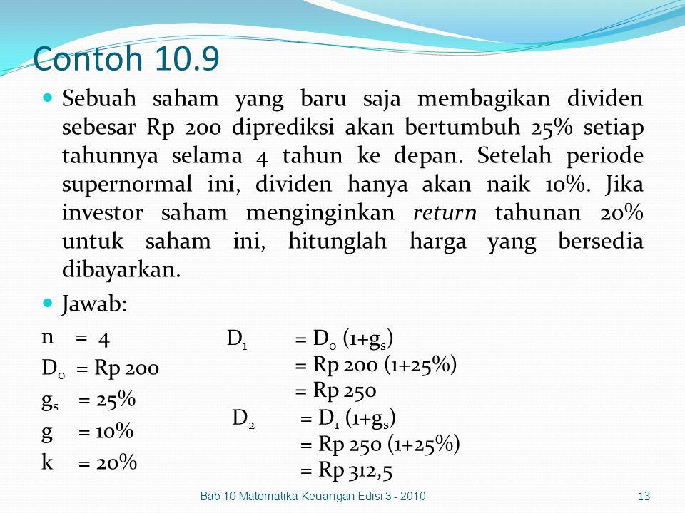 Contoh 10.9