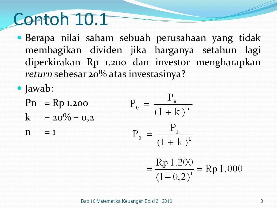 Contoh 10.1