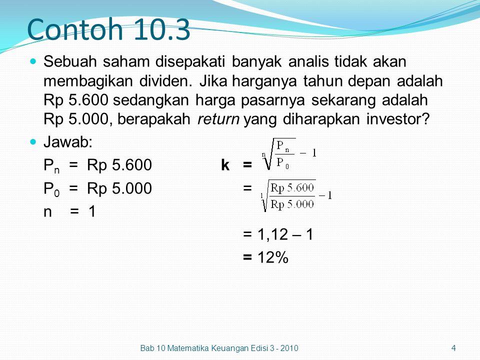 Contoh 10.3