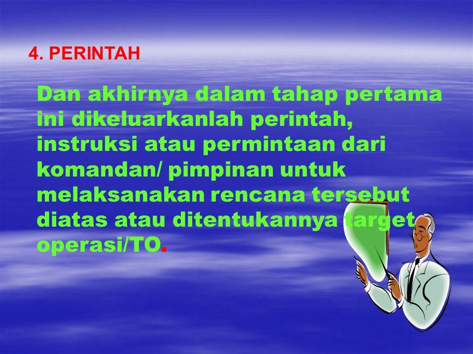 4. PERINTAH