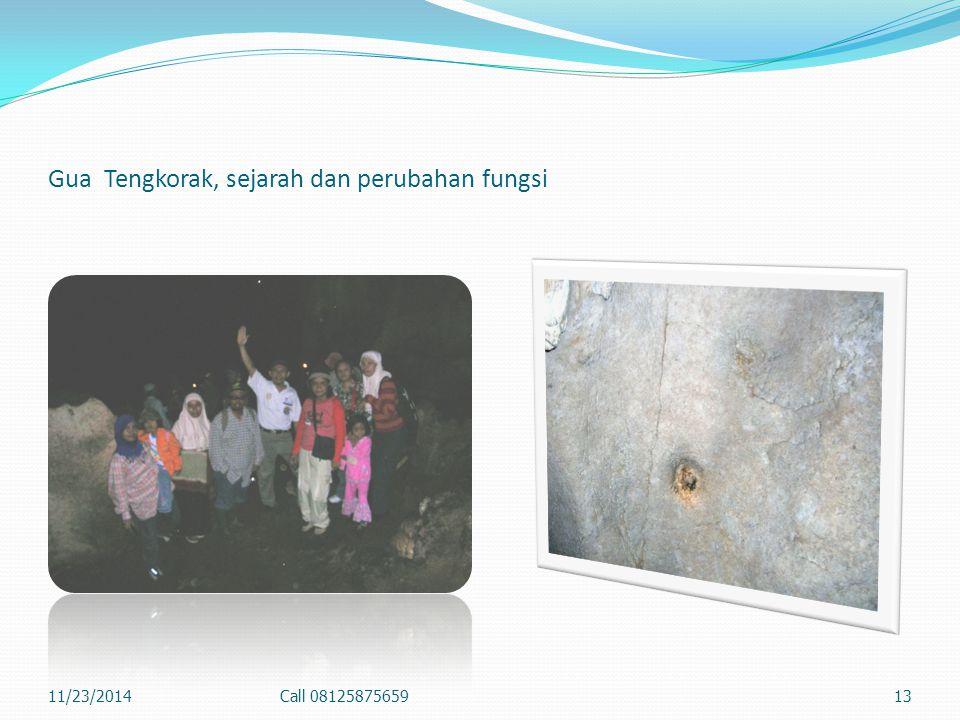 Gua Tengkorak, sejarah dan perubahan fungsi