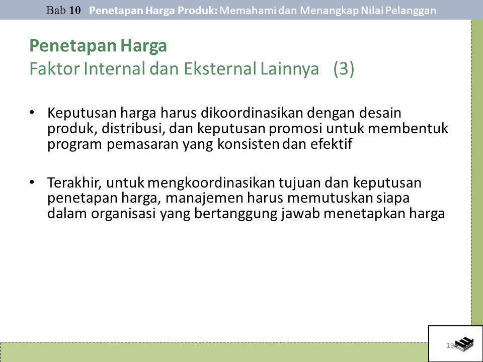 Penetapan Harga Faktor Internal dan Eksternal Lainnya (3)