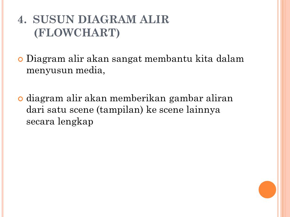 4. SUSUN DIAGRAM ALIR (FLOWCHART)