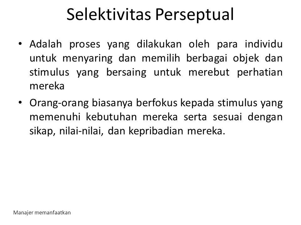 Selektivitas Perseptual
