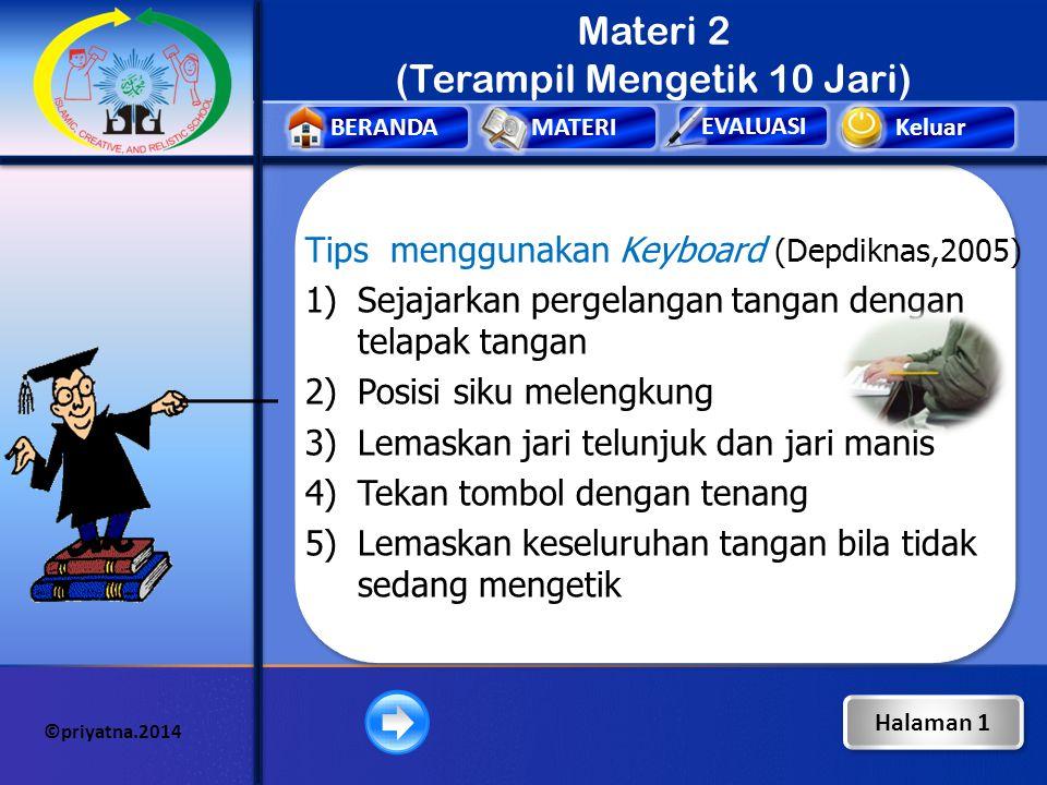 Materi 2 (Terampil Mengetik 10 Jari)