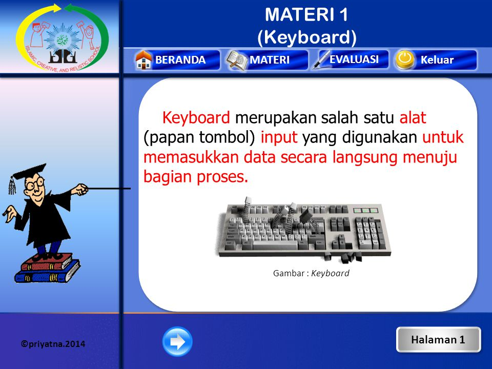 MATERI 1 (Keyboard)