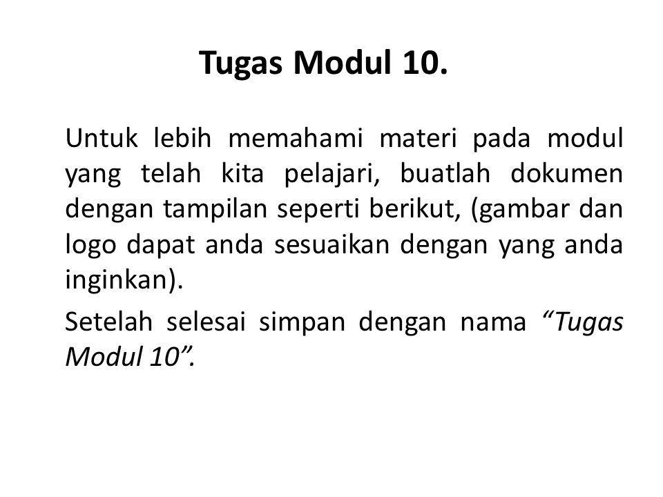 Tugas Modul 10.