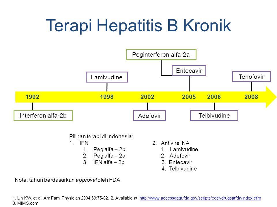 Terapi Hepatitis B Kronik