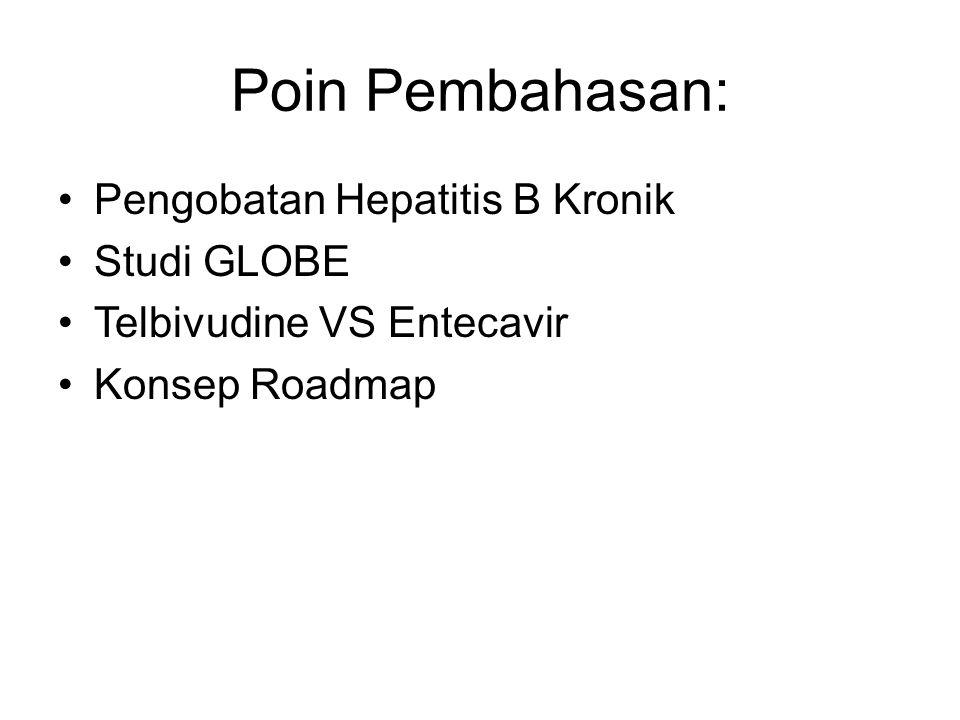 Poin Pembahasan: Pengobatan Hepatitis B Kronik Studi GLOBE