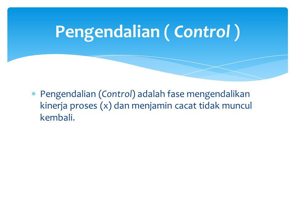 Pengendalian ( Control )