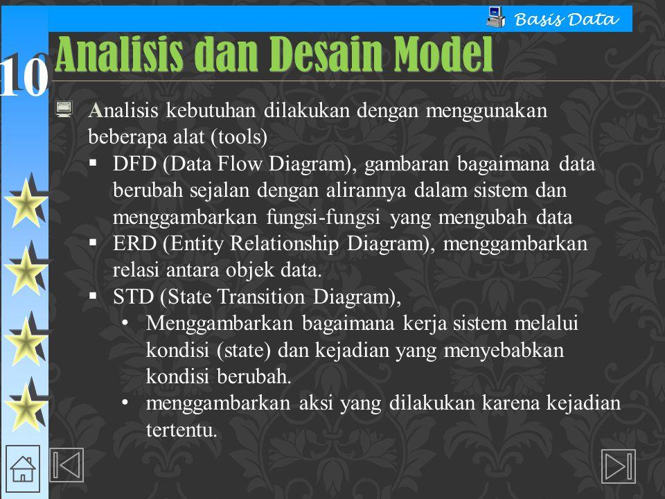 Analisis dan Desain Model