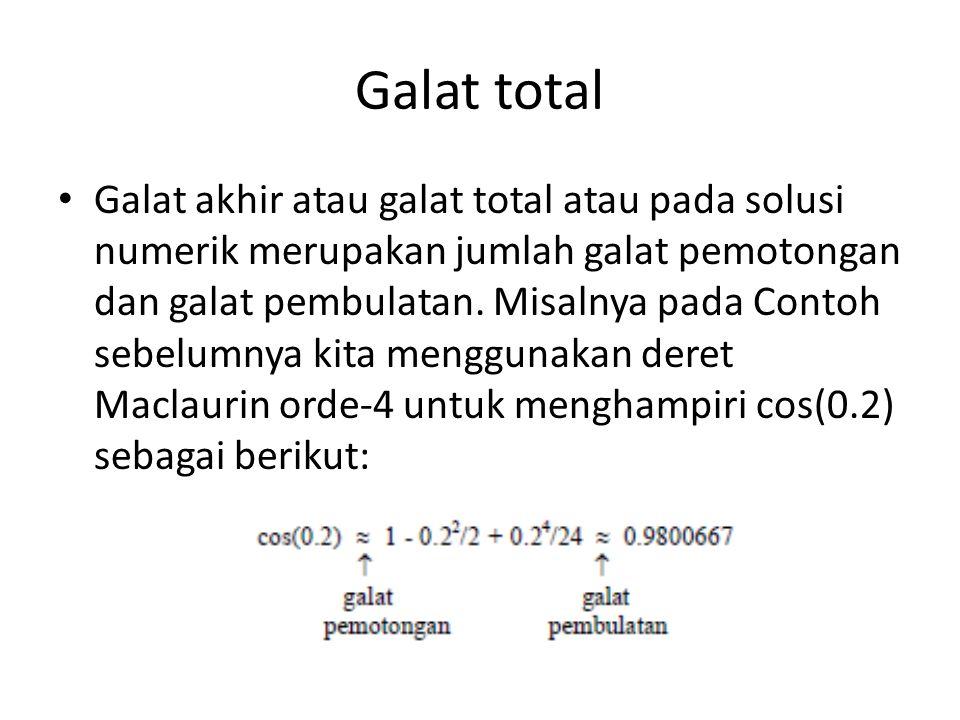 Galat total