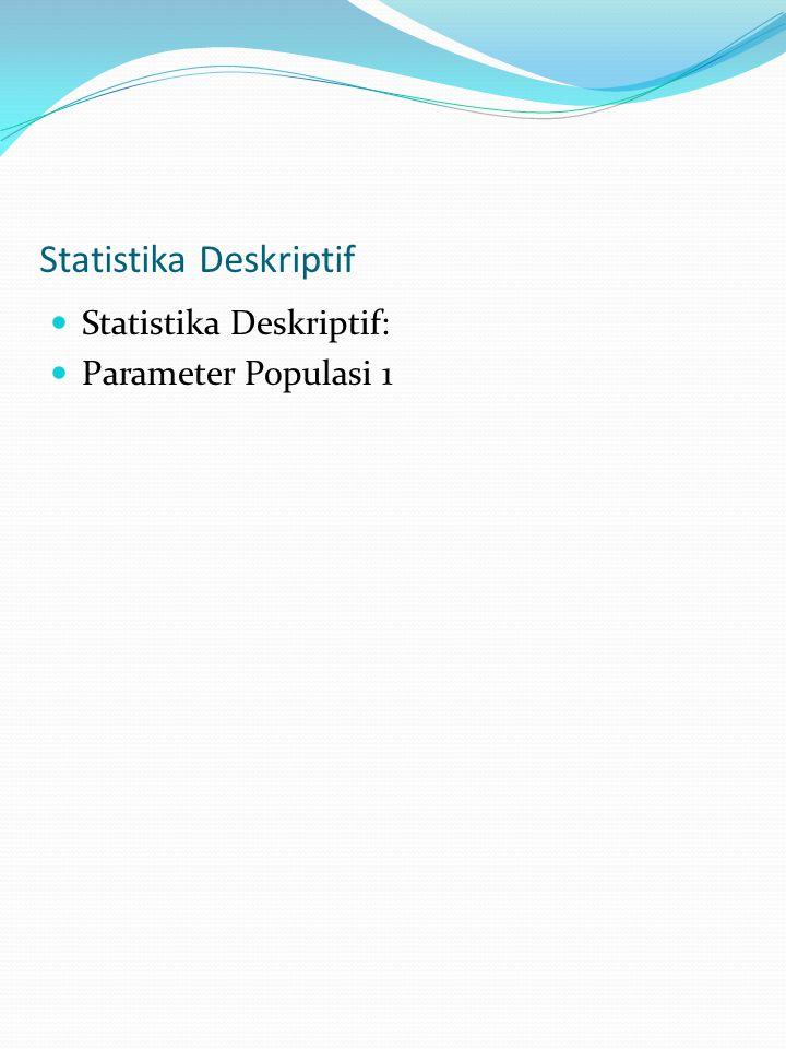 Statistika Deskriptif