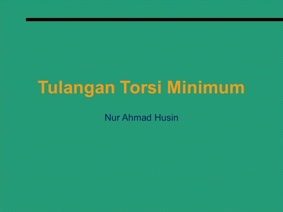Tulangan Torsi Minimum