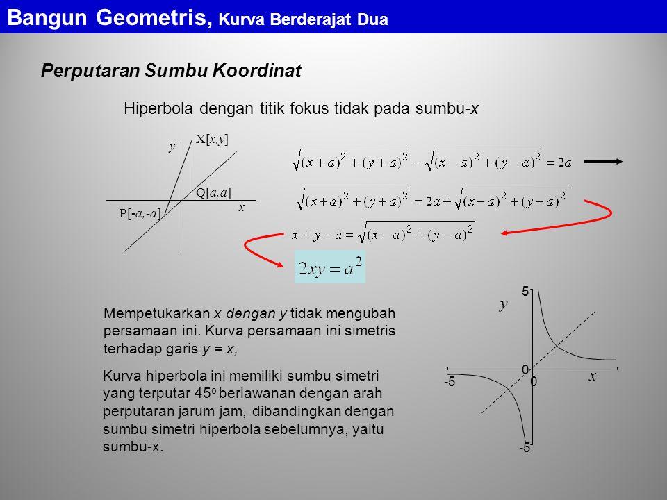 Bangun Geometris, Kurva Berderajat Dua