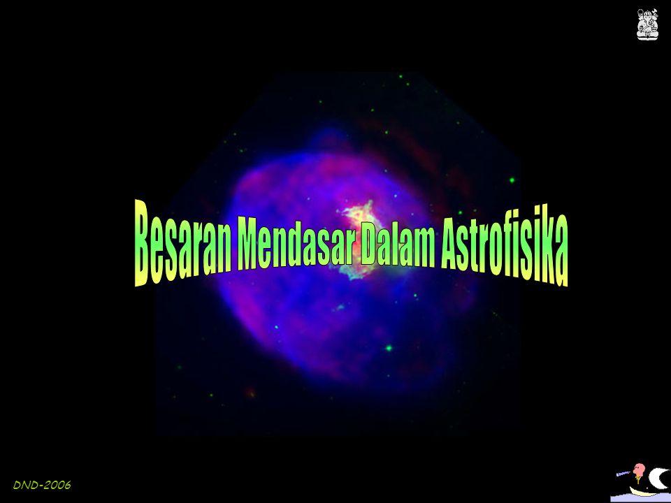 Besaran Mendasar Dalam Astrofisika