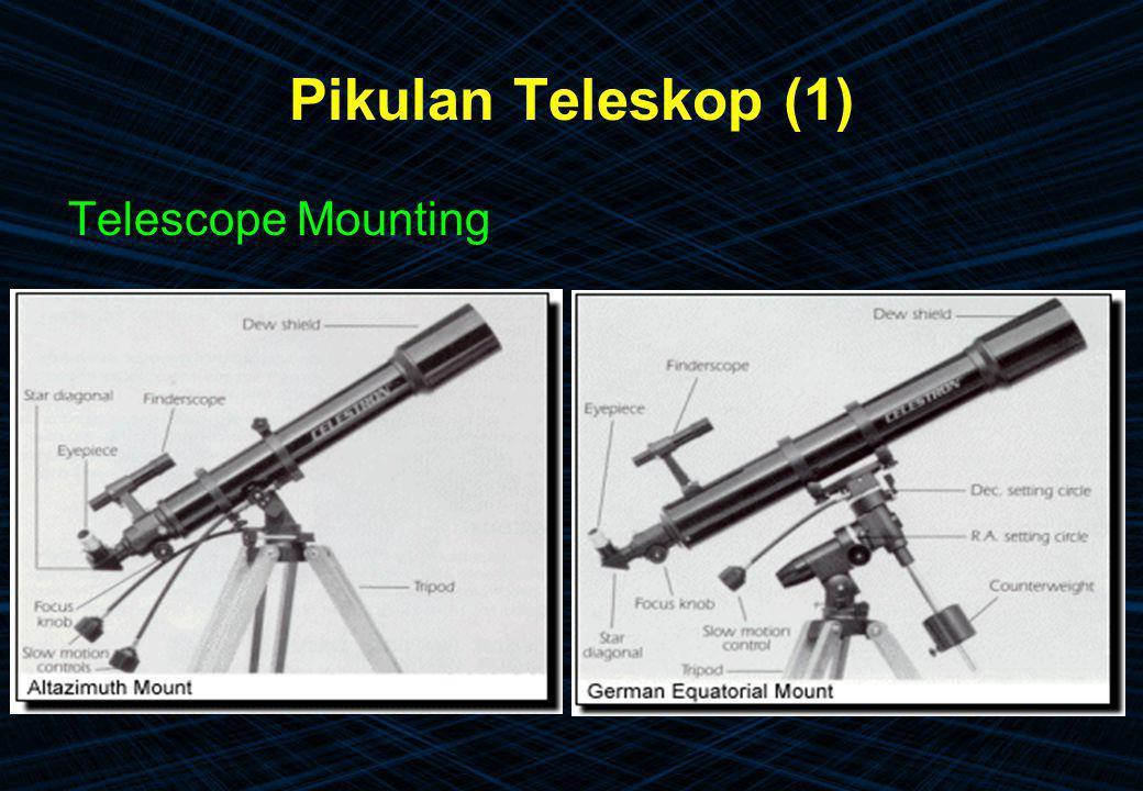 Pikulan Teleskop (1) Telescope Mounting