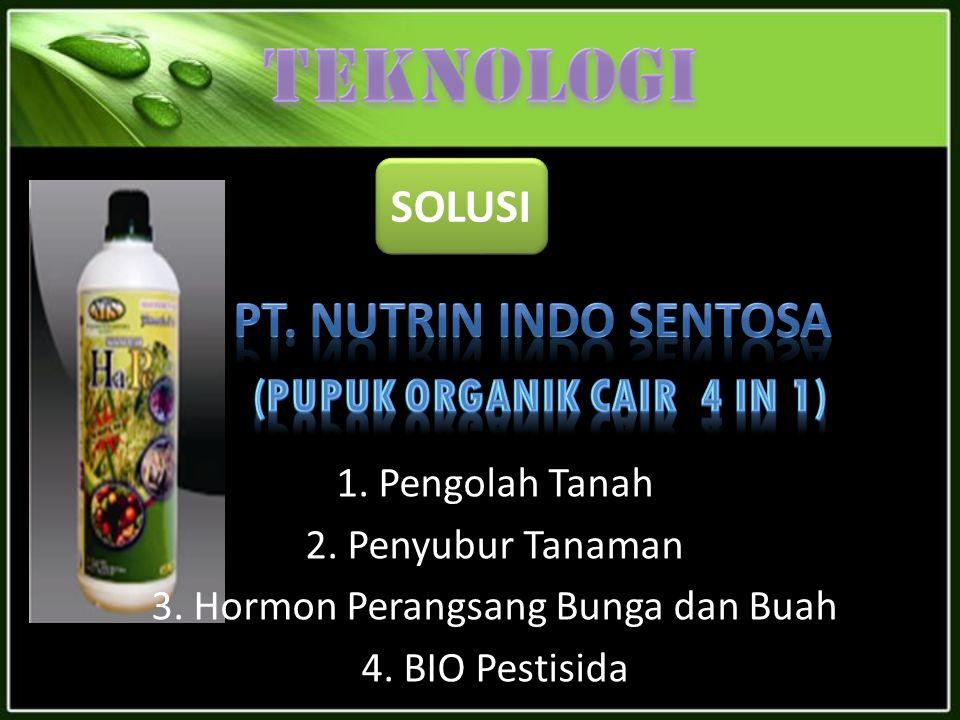 (Pupuk organik cair 4 in 1)