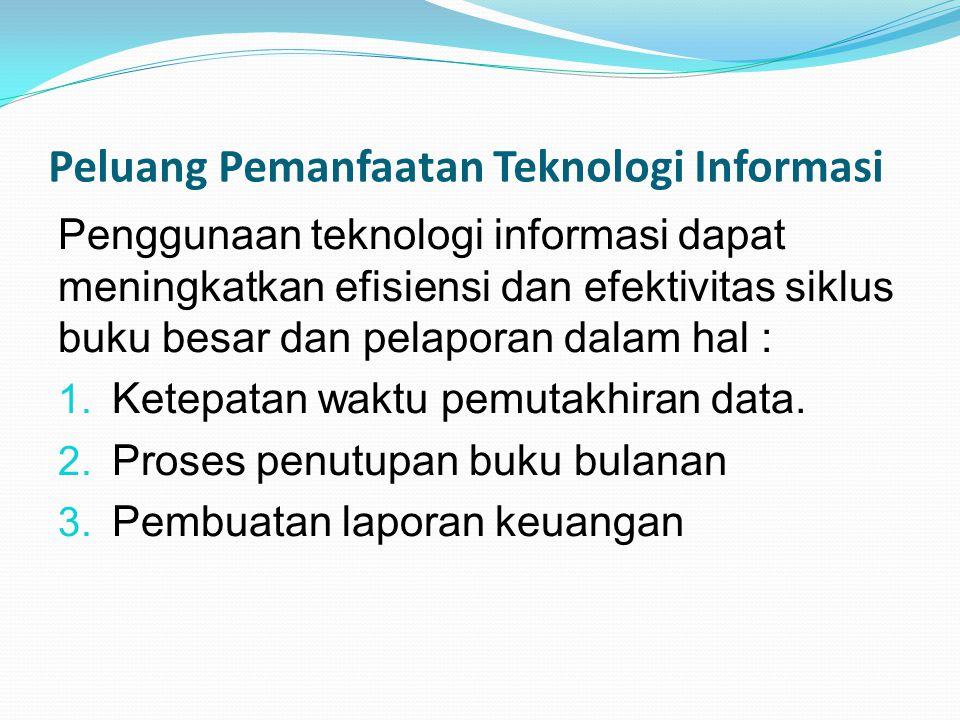 Peluang Pemanfaatan Teknologi Informasi