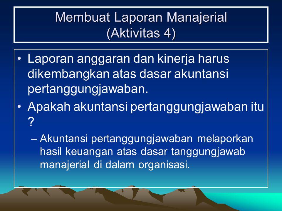 Membuat Laporan Manajerial (Aktivitas 4)
