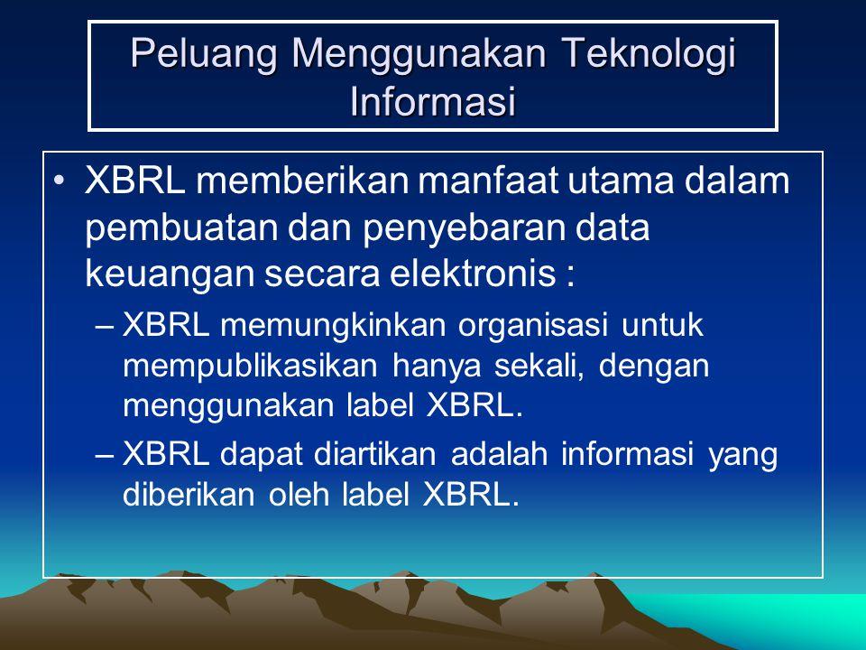 Peluang Menggunakan Teknologi Informasi
