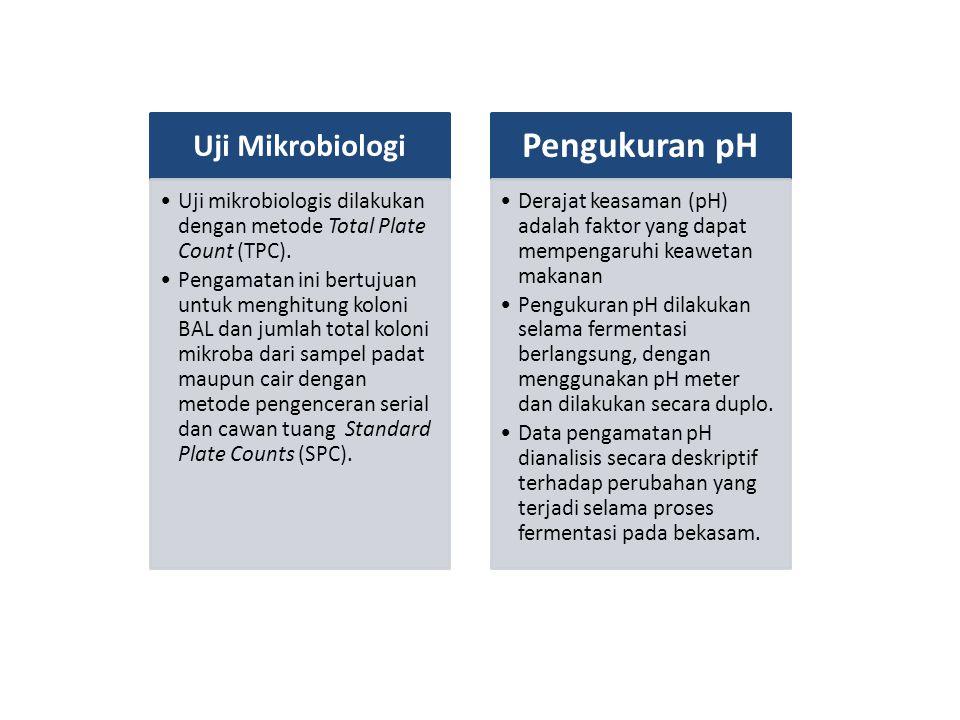 Pengukuran pH Uji Mikrobiologi
