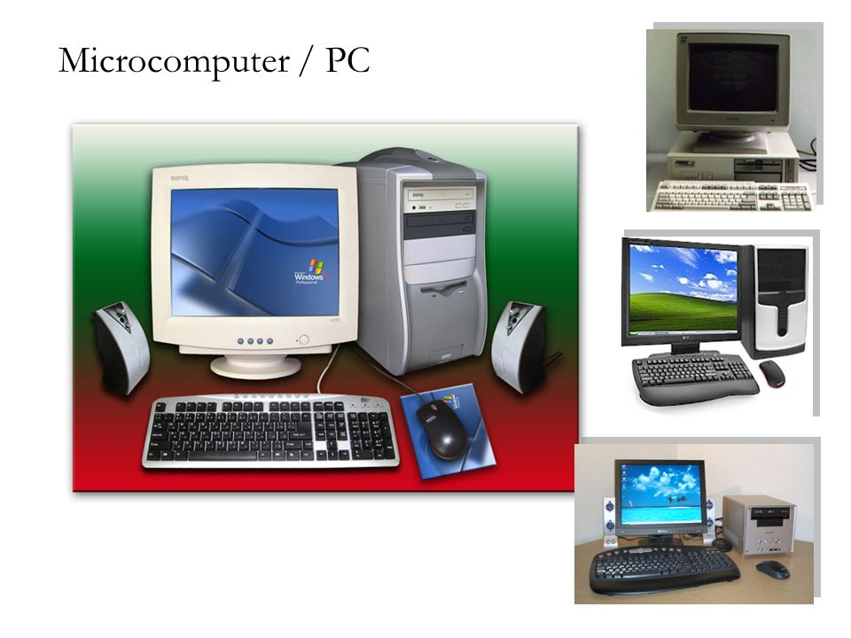 Microcomputer / PC