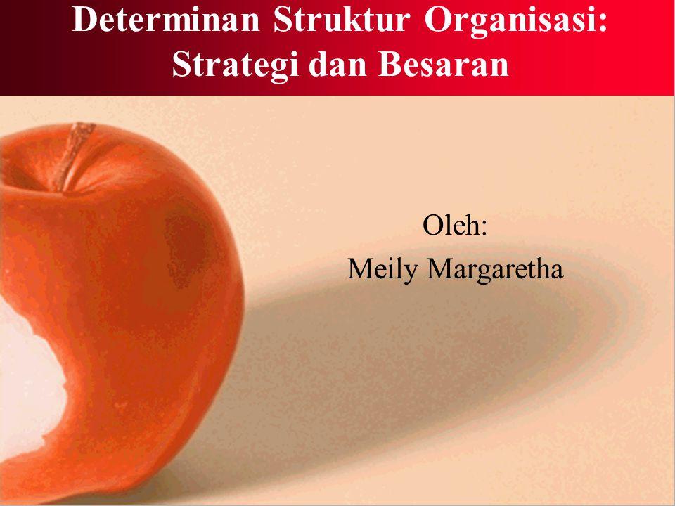 Determinan Struktur Organisasi: Strategi dan Besaran