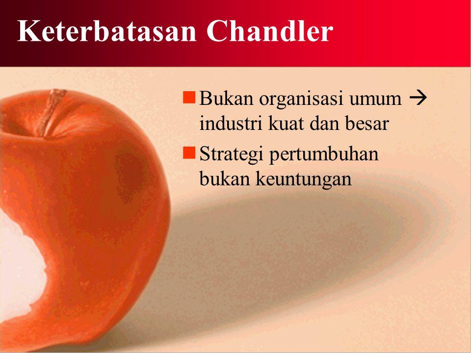 Keterbatasan Chandler