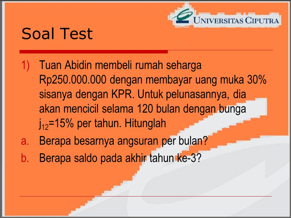 Soal Test