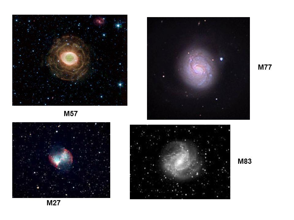 M77 M57 M83 M27