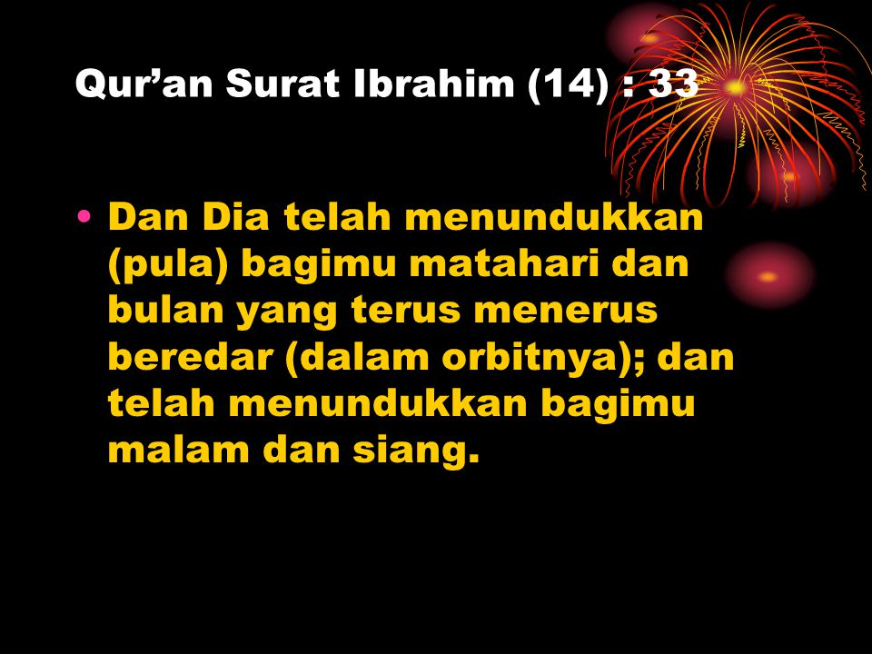 Qur'an Surat Ibrahim (14) : 33
